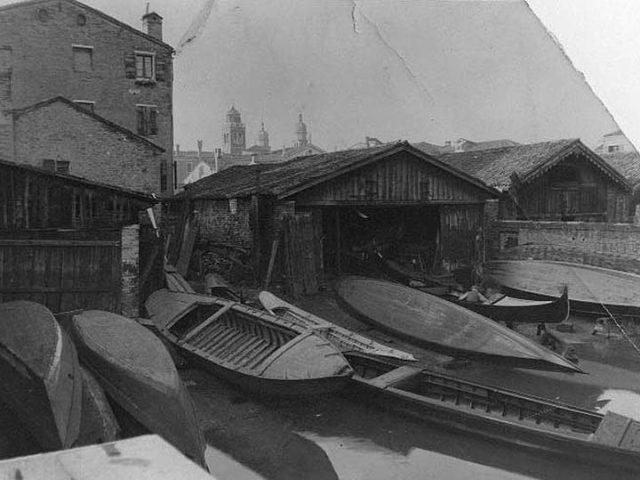 Squero Venezia 1930