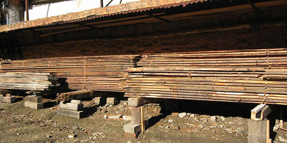 Costruzione della gondola - legni