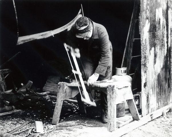Squero Venezia - foto d'archivio